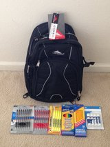Back pack and other stuff in Fort Belvoir, Virginia