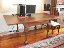 British Eagle Claw-footed table in Okinawa, Japan