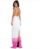 SYDNEY DIP DYE MAXI DRESS in San Diego, California