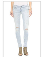 Racer Low Rise Skinny Jeans in San Diego, California