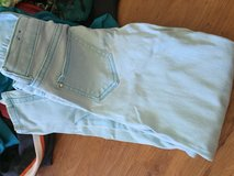 Girls pants lot (jeans and sweats) in Okinawa, Japan