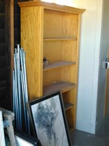 Tall Solid Oak Bookcase in 29 Palms, California