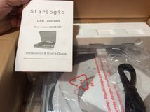 StarLogic USB Turntable BRAND NEW  DOWN LOAD MUSIC in Great Lakes, Illinois