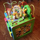 Zoo Wooden Activity Cube in Fort Leavenworth, Kansas