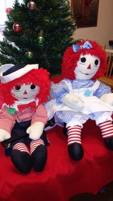 "15""&36"" Ragdy Ann & Andy Dolls in Leesville, Louisiana"