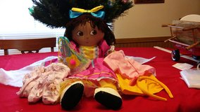 Dora and 3 Outfits in Leesville, Louisiana