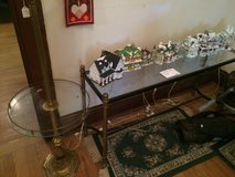 Glass and Chrome entry Table in Baytown, Texas