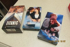 """Titanic"" Movie On 2 VHS Cassettes - Excellent Condition! - REDUCED! in Kingwood, Texas"