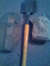 VINTAGE U.S. ARMY SHOVEL AND CANTEEN in Shreveport, Louisiana