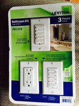 LEVITON DECORA BATHROOM KIT in Aurora, Illinois