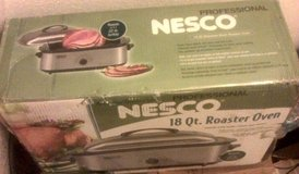 Nesco 18qt Professional Roaster oven up to 22lb turkey (Brand new) in Baytown, Texas