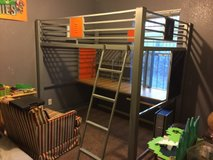 Study Loft Bed Full Size in Fort Bliss, Texas