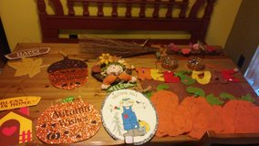 Fall decor lot in The Woodlands, Texas