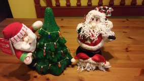 Santa Claus plush/Christmas in Spring, Texas