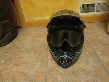 Dirt bike Helmet and goggles in Alamogordo, New Mexico