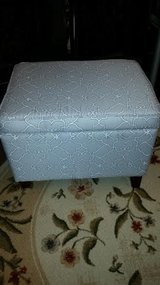 Gray / White Ottoman in Fort Campbell, Kentucky