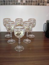 Bohemian Glasses , new,6 pieces in Ramstein, Germany