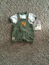 Boys 3-6 month Safari Outfit-NWT in Bolingbrook, Illinois