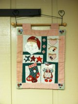 SANTA  WALL HANGING in Chicago, Illinois