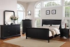 Queen Bed Set 6pc in Fort Irwin, California