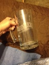 "NEW Large Etched Crystal ""Lizard Lick Tow"" Mug in Perry, Georgia"