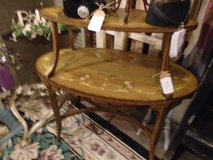 two tier vintage side table in Naperville, Illinois