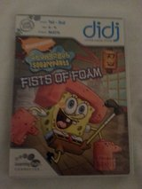 LeapFrog Didj Custom Learning SpongeBob SquarePants:Fists of Foam Game in Camp Lejeune, North Carolina