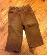 Baby/Toddler boys Crazy 8 rust brown corduroy jeans size 12 - 18 months in Byron, Georgia
