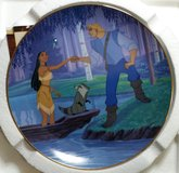 """Pocahontas Collectors Plate, """"The Moment They Touch"""" Plate #2646A in Alamogordo, New Mexico"""