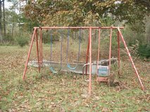 Swing Set in Leesville, Louisiana