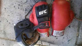fight gear in Yucca Valley, California