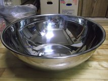NEW*HUGE STAINLESS MIXING BOWL in Okinawa, Japan