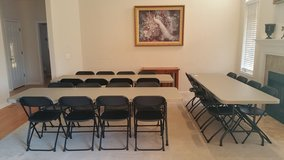 Table and Chair Rental for your Holiday Event or Special Occasion in Tinley Park, Illinois