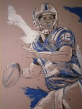 Andrew Luck in Conroe, Texas