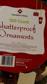 Member's Mark 100 Count Shatterproof Ornaments in Fort Campbell, Kentucky
