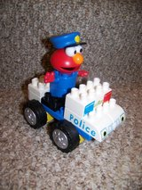 Elmo K'Nex Police Car Building Set in Schaumburg, Illinois