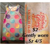 Girls Smiley face tank (4/5) in Joliet, Illinois