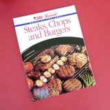 WEBER / SUNSET STEAKS, CHOPS and BURGERS -  1996 COOKING GUIDE /COOKBOOK OOP in Chicago, Illinois