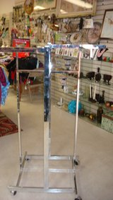 clothes rack in Fort Bliss, Texas