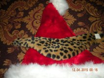 Leopard Faux Fur Pet Collar in Barstow, California