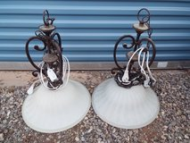 Pair of Hanging lamps in Alamogordo, New Mexico