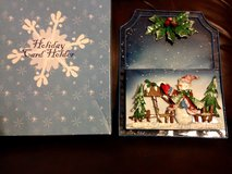 Holiday card holder in Naperville, Illinois