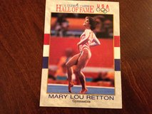 Mary Lou Retton Olympic Card in Joliet, Illinois