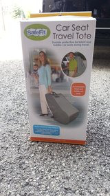 Car Seat Travel Tote with Wheels - NIB in Sugar Grove, Illinois