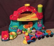 Playskool Weeble Wobble Barn/train set Features Electronic Music in Conroe, Texas