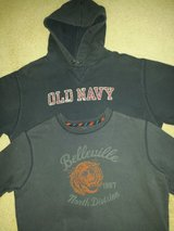 Big Boys Medium Hoodie 14H - 16H Lands End Sweatshirt in Naperville, Illinois