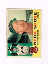 1960 #360 HERB SCORE CLEVELAND INDIANS TOPPS BASEBALL CARD in Morris, Illinois