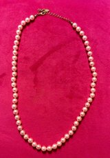 Pink pearl necklace in Macon, Georgia