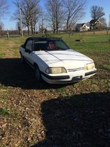 1989 mustang lx convertable in Fort Campbell, Kentucky
