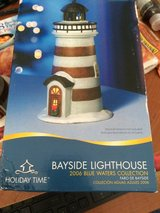 "Bayside Ceramic ""ligh-up"" Lighthouse in Camp Lejeune, North Carolina"